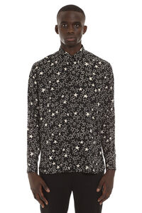 Printed silk shirt, Printed Shirts Saint Laurent man
