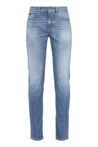 5-pocket slim fit jeans, Slim jeans Z Zegna man