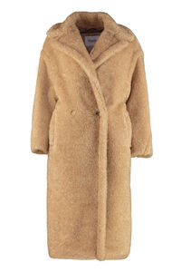 Park double-breasted coat, Faux Fur and Shearling Max Mara woman