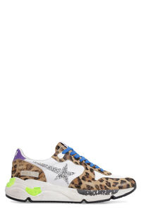 Running Sole leather and mesh sneakers, Low Top sneakers Golden Goose woman