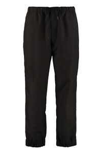 Techno fabric track pants, Track Pants Moncler man
