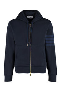 Full zip hoodie, Zip through Thom Browne man