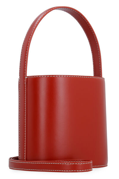 Bissett suede and leather bucket bag