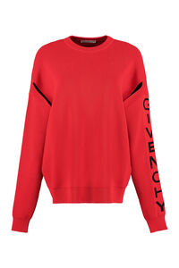 Wool crew-neck pullover, Crew neck sweaters Givenchy woman