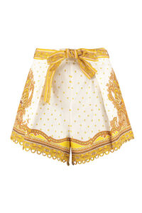 Shorts Bells in lino stampato, Shorts Zimmermann woman