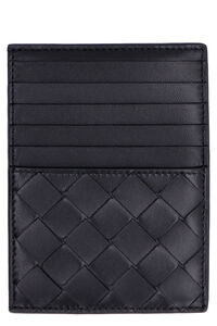 Maxi Intreccio card case, Wallets Bottega Veneta woman
