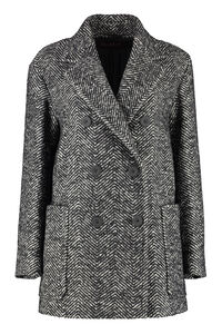 Ulna double-breasted virgin wool jacket, Double Breasted Max Mara woman