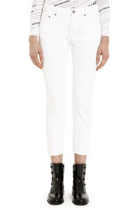 Jolly carrot-fit jeans, Straight Leg Jeans Golden Goose woman