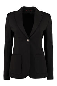 Oro single-breasted two-button blazer, Blazers Max Mara Studio woman