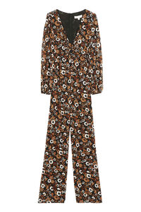 Printed crepe jumpsuit, Full Length jumpsuits MICHAEL MICHAEL KORS woman