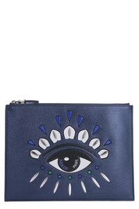 A4 Kontact Eye flat clutch, Pouches Kenzo woman