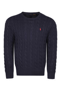 Cable knit pullover, Crew necks sweaters Polo Ralph Lauren man