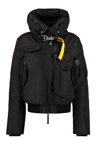 Gobi hooded bomber-style down jacket, Bomber Parajumpers woman