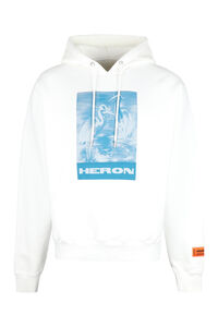 Printed hoodie, Hoodies Heron Preston man