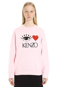 Embroidered cotton sweatshirt, Sweatshirts Kenzo woman