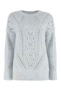 Wool-blend crew-neck sweater, Crew neck sweaters Vince woman