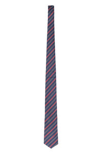 Silk tie with striped pattern, Ties BOSS man