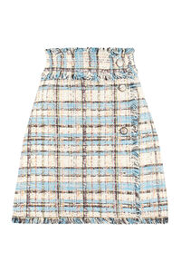 Tweed mini-skirt, Wrap skirts MSGM woman