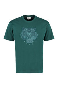 Logo cotton t-shirt, Short sleeve t-shirts Kenzo man