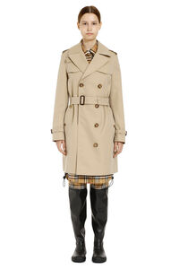 Trench coat in gabardine, Impermeabili E Giacche A Vento Burberry woman