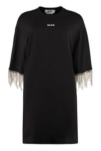 Embellished jersey dress, Mini dresses MSGM woman