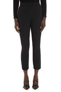 Mr Brown stretch crêpe trousers, Trousers suits Pinko woman