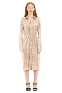 Satin jersey shirtdress, Knee Lenght Dresses Bottega Veneta woman