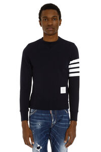 Printed cotton sweatshirt, Sweatshirts Thom Browne man