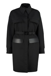Belted overcoat, Casual Jackets Fendi woman