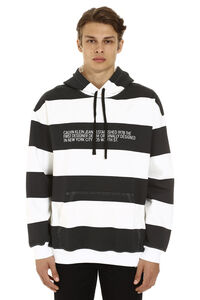 Striped cotton hoodie, Hoodies CALVIN KLEIN JEANS EST. 1978 man