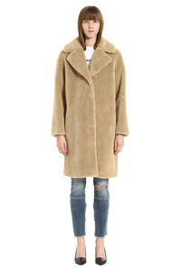 Camille eco-shearling coat, Faux Fur and Shearling Stand Studio woman