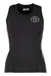 Techno fabric tank-top, Tanks and Camis Fendi woman