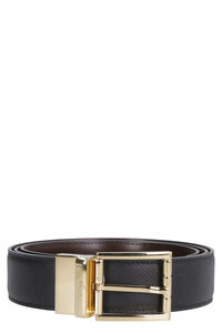 Astor reversible leather belt, Belts Bally man
