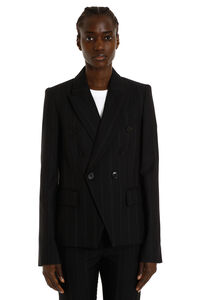 Double-breasted wool-blend jacket, Blazers Stella McCartney woman