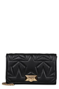 Helia Clutch quilted leather shoulder bag, Shoulderbag Jimmy Choo woman