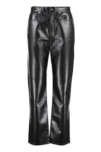 Leather pants, Leather pants AGOLDE woman