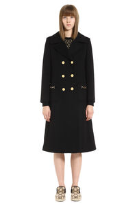 Double-breasted wool coat, Double Breasted Gucci woman