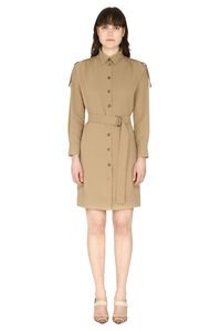Maraiko shirtdress with belt, Knee Lenght Dresses Pinko woman