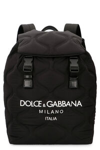Backpack with logo print, Backpack Dolce & Gabbana man