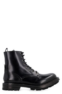 Wander leather combat boots, Lace-up boots Alexander McQueen man
