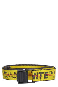Mini Industrial fabric belt with logo, Belts Off-White man