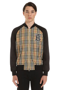 Bomber in nylon, Bomber Burberry man