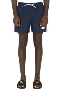 Nylon swim shorts, Swimwear Thom Browne man