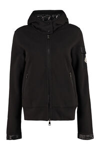Hooded nylon jacket, Hoodies Moncler woman