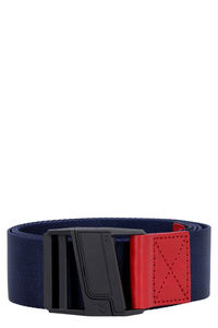 Logo canvas belt, Belts Tommy Jeans man