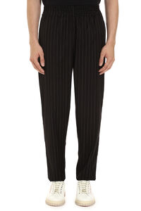 Pinstriped cotton pants, Casual trousers PTRCRS man
