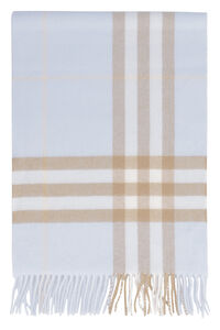 Cashmere scarf with fringes, Scarves Burberry man