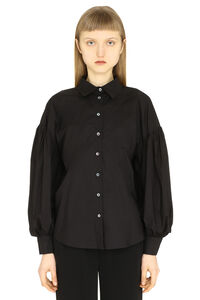 Long sleeve cotton shirt, Shirts Parosh woman