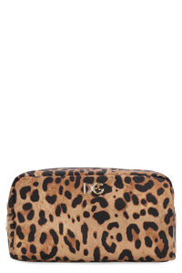 Leopard print nylon wash bag, Beauty Cases Dolce & Gabbana woman