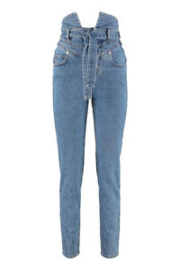 High-rise skinny jeans, Straight Leg Jeans The Attico woman
